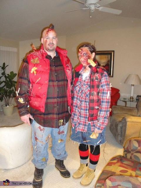 Zombie Couple Halloween