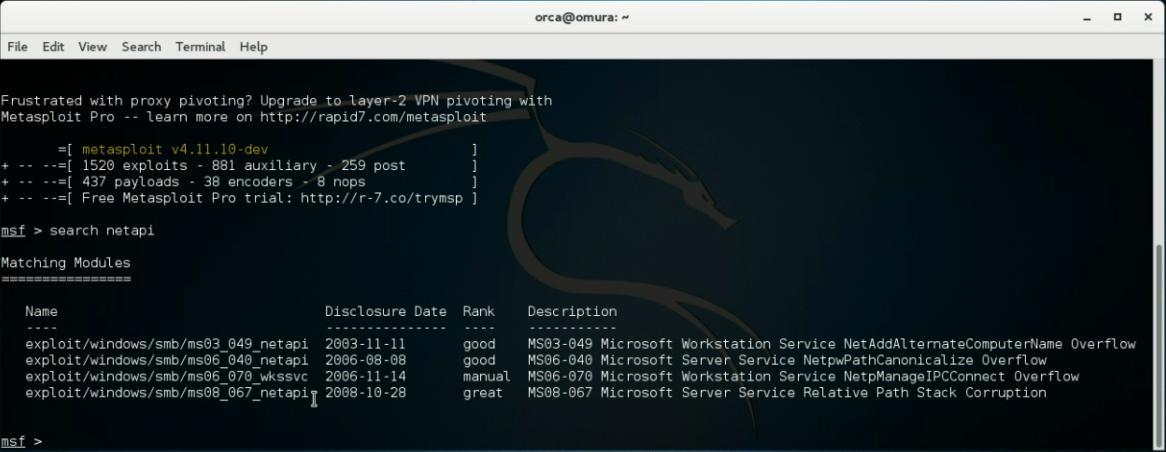 using metasploit to hack windows