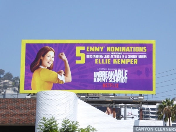 Unbreakable Kimmy Schmidt 2017 Emmy noms billboard