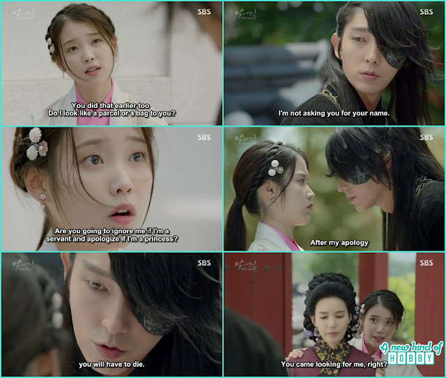 4th princ threaten hae so if you ant an apology you have to die - Moon Lovers: Scarlet Heart Ryeo - Episode 2 Review