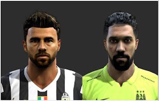 New Faces: Barzagli & Gaël Clichy Pes 2013