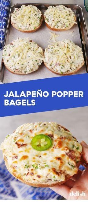Jalapeño Popper Bagels