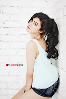Bollywood Actress Adah Sharma Spicy Ultra HD Poshoot Gallery in Denim Shorts  0002.jpg