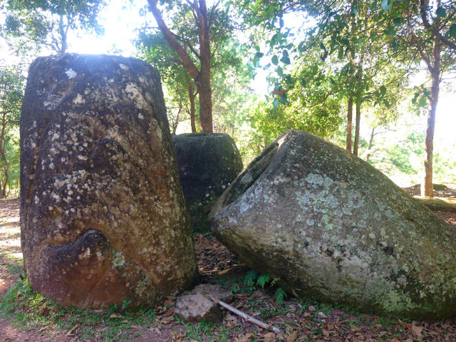 The Plain of Jars in Phonsavan