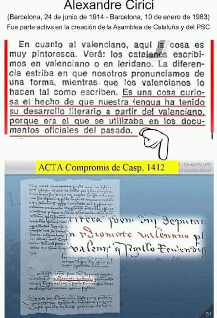 Alexandre Cirici VS Compromís de Casp, 1412