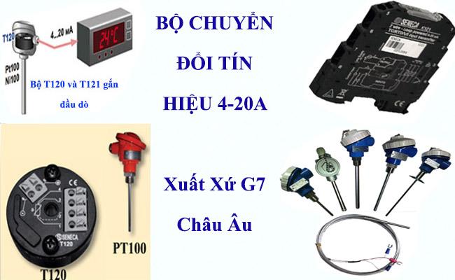Bộ chuyển đổi tín hiệu cảm biến đo nhiệt độ pt100 là gì ?