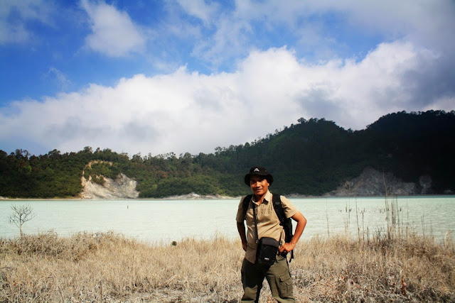 Solo hiking ke Talaga Bodas-Garut.