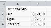 Como trabalhar com dinheiro, moeda e real em planilhas do Excel