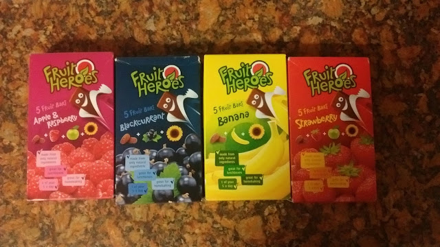 Fruit Heroes Fruit Bars