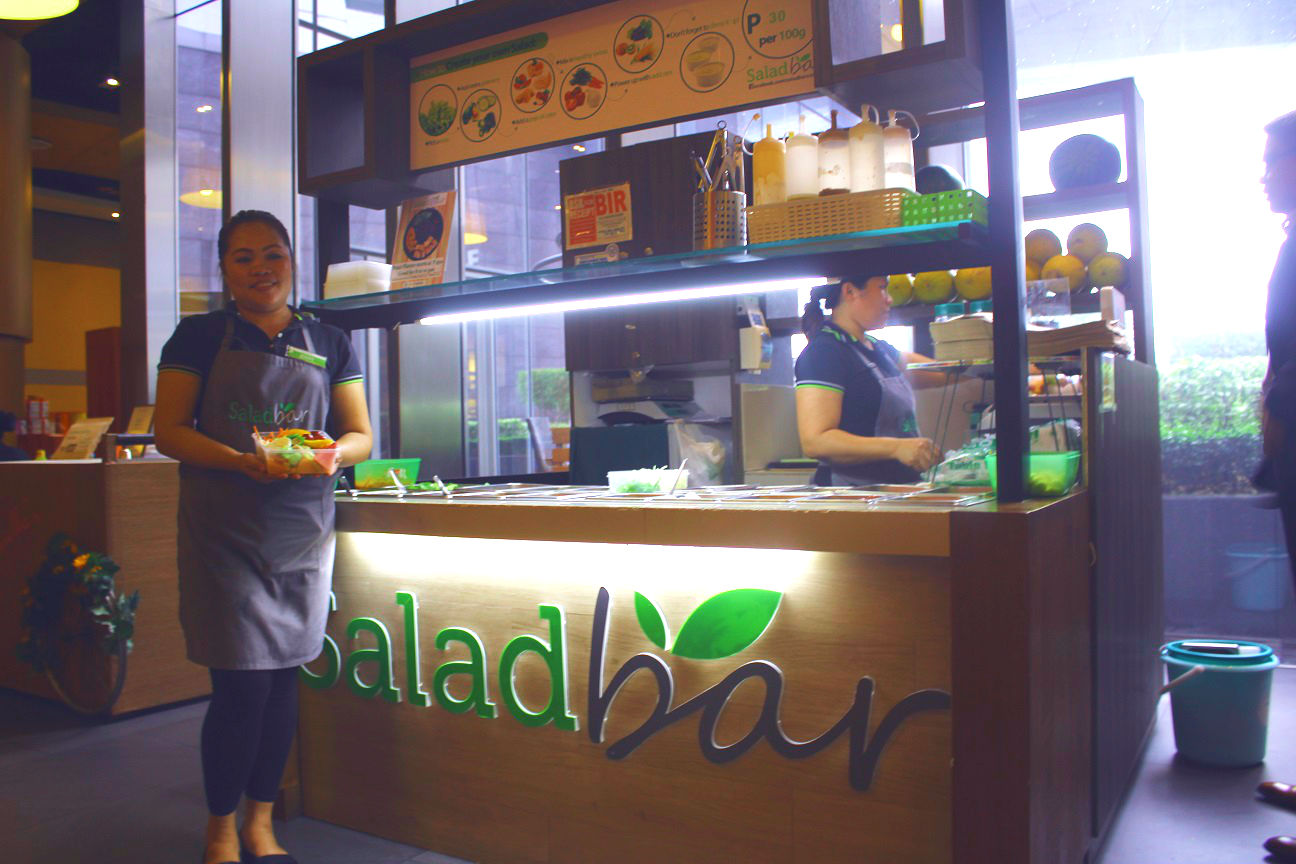 salad bar in makati