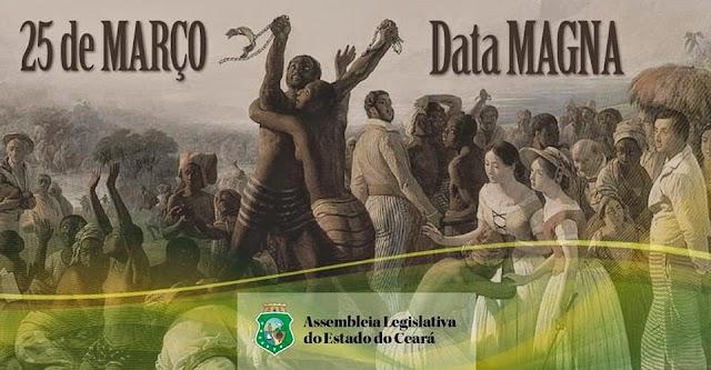 Ceará foi a primeira província brasileira a libertar os escravos | Entenda a Data Magna do Ceará