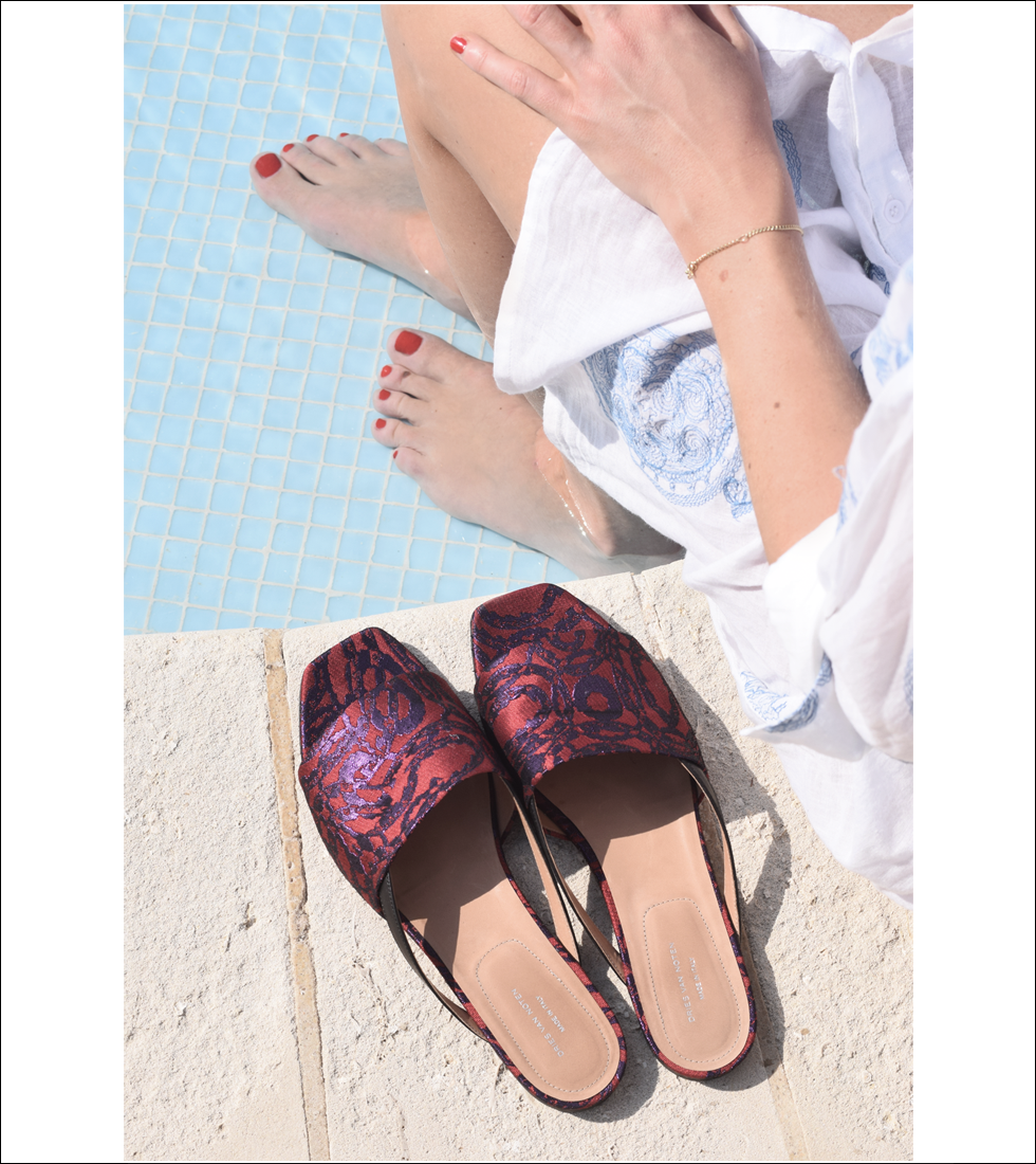 Outfit of the day, Chloé, Positano, Dries Van Noten, ootd, pool, fashion, blogger, style, summer