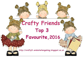 Top 3 at Crafty Friends