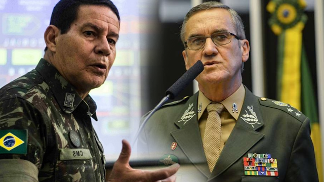 Resultado de imagem para Após o comandante do Exército, General Villas Bôas