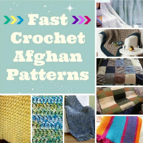 Fast Crochet Afghan Patterns