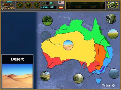 Природни Зони на Австралия
