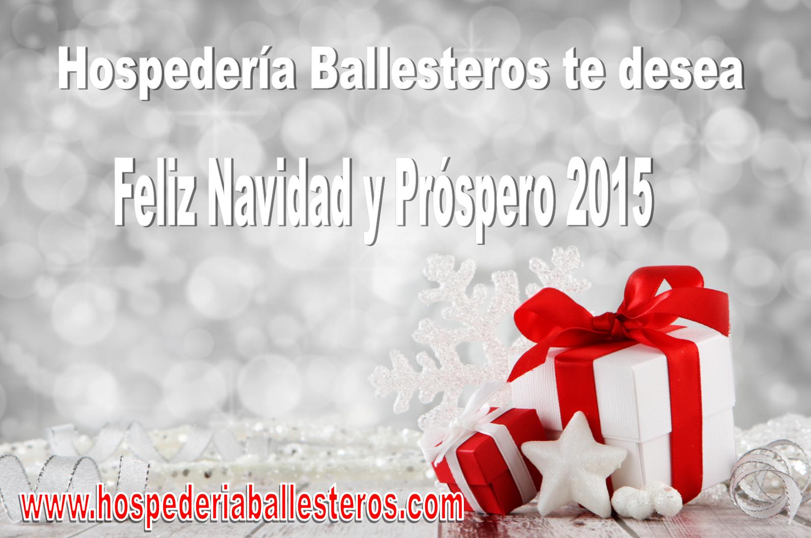 Felices Fiestas y prospero año 2015