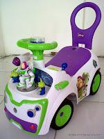 Disney Pixar Toy Story Buzz n' Friends Space Car