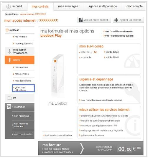 cr er un compte ou une adresse mail secondaire orange. Black Bedroom Furniture Sets. Home Design Ideas