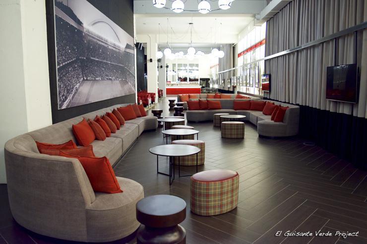 Bar Inglés San Mames VIP Area - Bilbao por El Guisante Verde Project