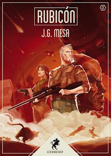 Libro Rubicón, de  J.G. Mesa - Cine de Escritor
