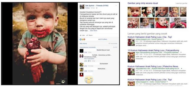 Dikira Anak Suriah Makan Tangan Jenazah Ibunya