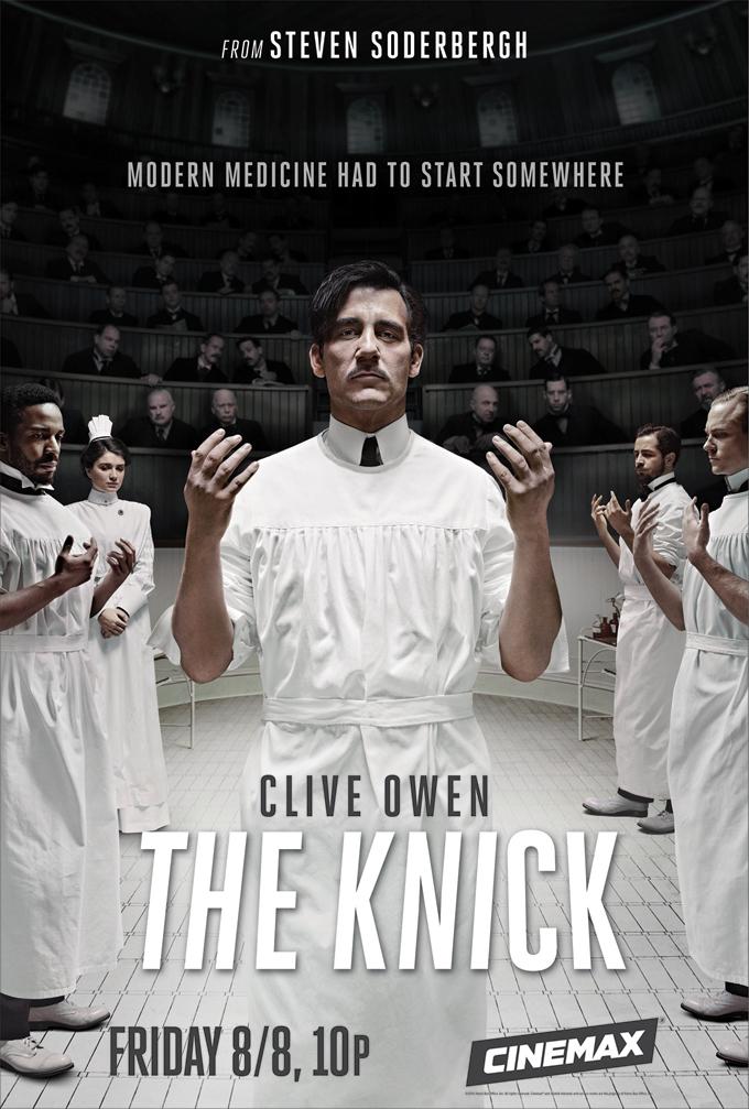 knick serial recenzja plakat clive owen