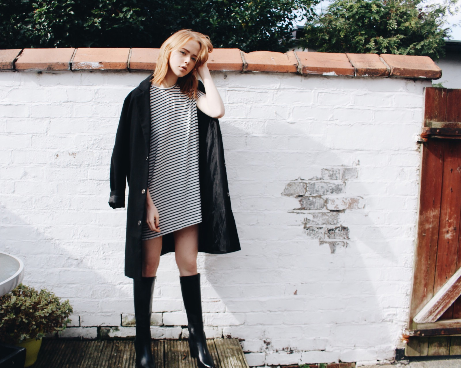 d7c76f7f54a Knee High Boots with Clarks | Holly Rebecca White