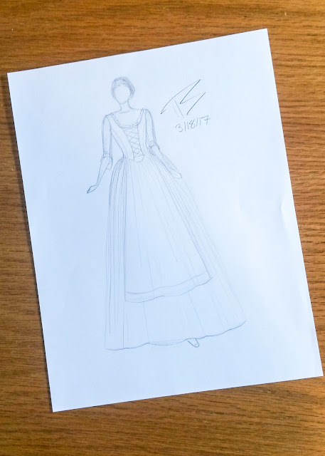 Making an 18th Century Inspired Dress Part 1 | Drafting the Bodice