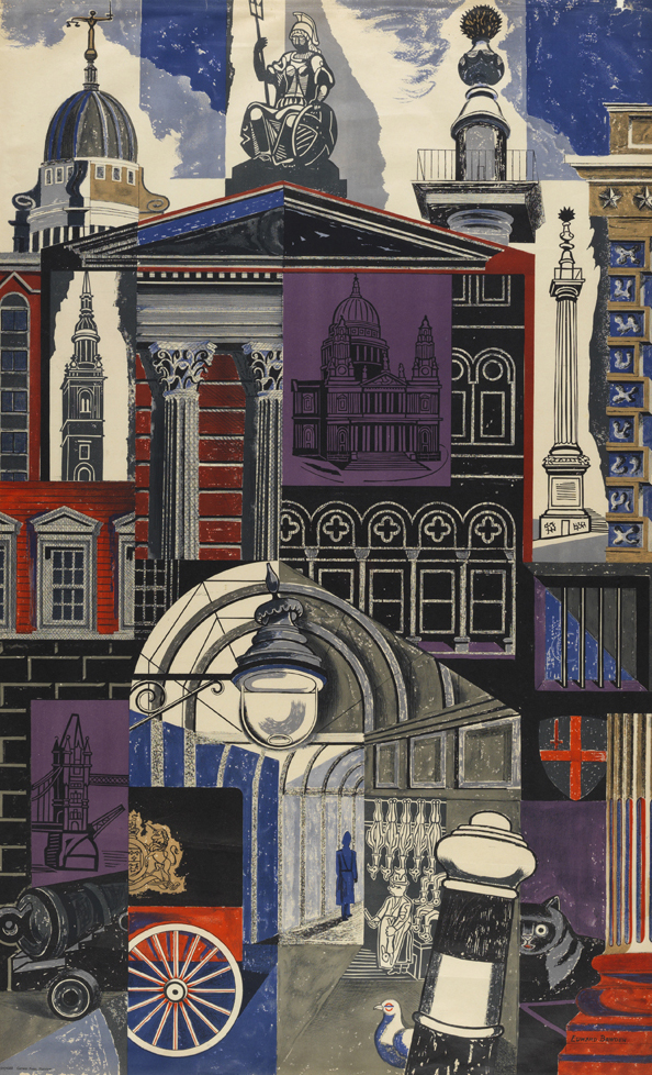 Art artists edward bawden part 3 for Printing architectural drawings
