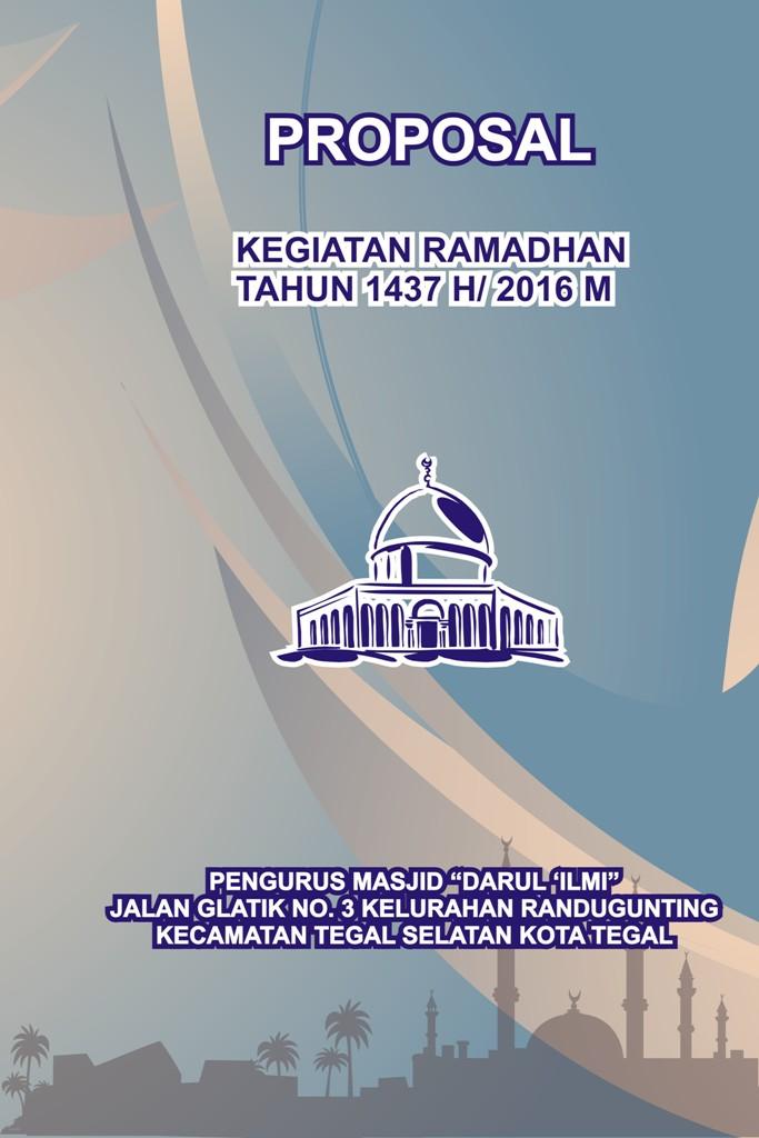 Contoh Cover Proposal Ramadhan Contoh 49