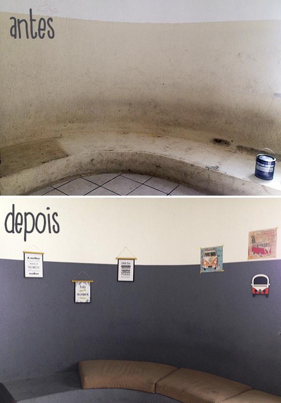 pintar a parede, renovar espaços, pintura, decoração, decor, home decor, a casa eh sua, acasaehsua