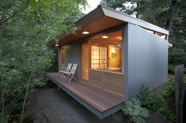 Oregon Teahouse 236 Sq Ft TINY HOUSE TOWN