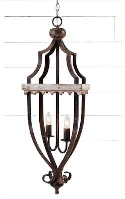 wooden pendant lighting