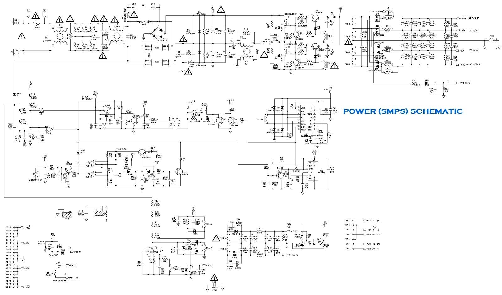 behringer amp schematic behringer epx 3000 - amplifier circuit diagram   schematic ... marshall amp schematic #8