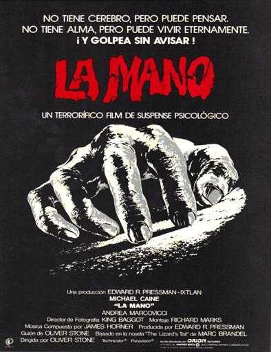 Ver La mano (The Hand) (1981) Online