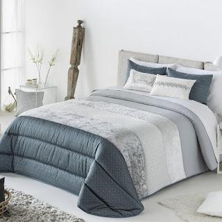 Edredón Comforter modelo Nani azul de Antilo Textil