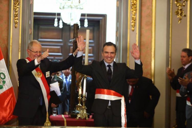 Juramentó Nuevo Ministro de Cultura Salvador Alejandro Jorge del Solar Labarthe - www.cultura.gob.pe