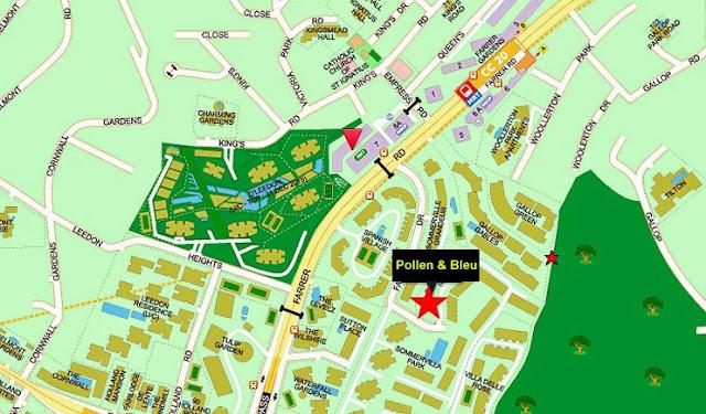 Pollen & Bleu Location