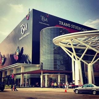 Tips Berlibur ke Bandung Yang Asik - Trans Studio Mall