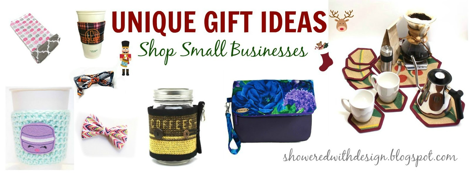 Showered With Design Unique Gift Ideas Shop Small