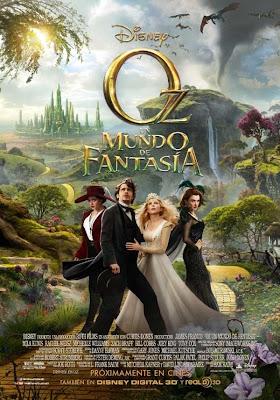 Oz un mundo de fantasía - Cartel
