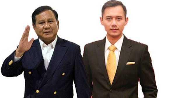 Adu Survei Prabowo-AHY Melawan Jokowi