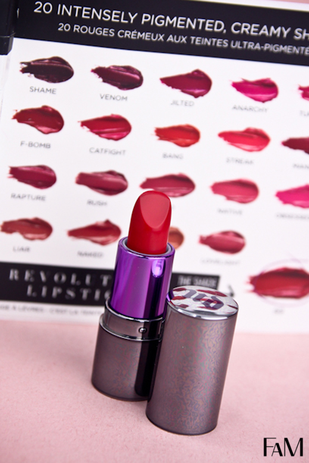Urban Decay Revolution Lipstick in 69 - Review, Swatches and Demo