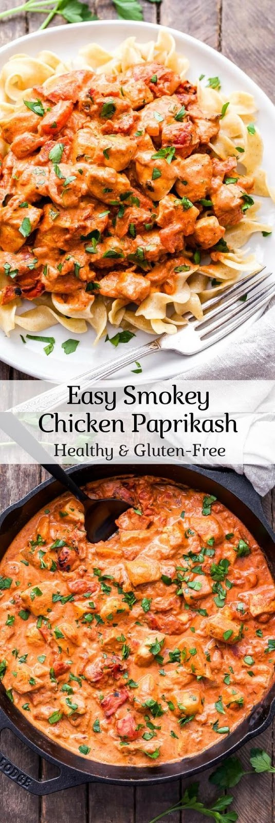 Easy Smokey Chicken Paprikash