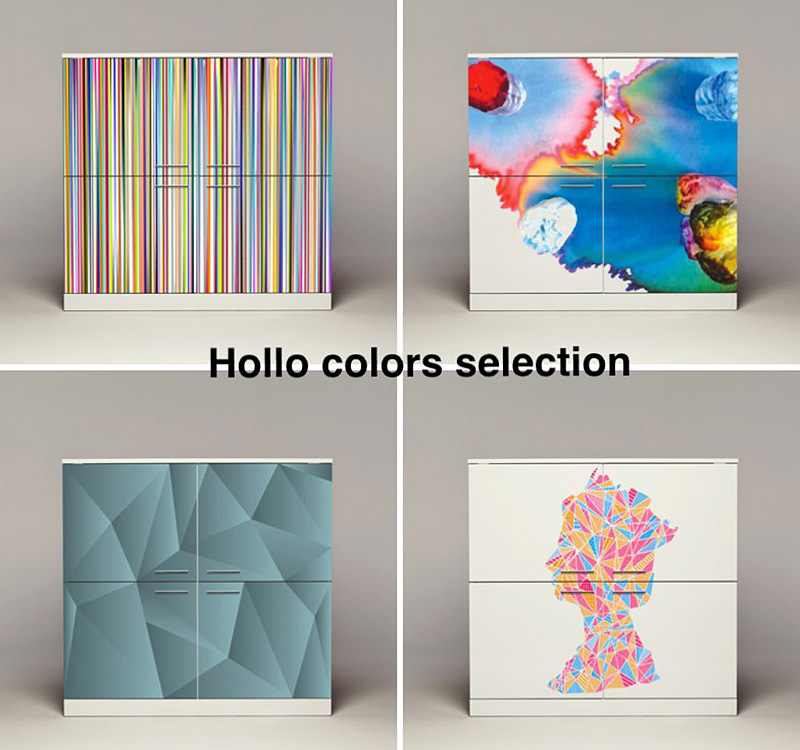 digitally printed furniture - if it's hip, it's here
