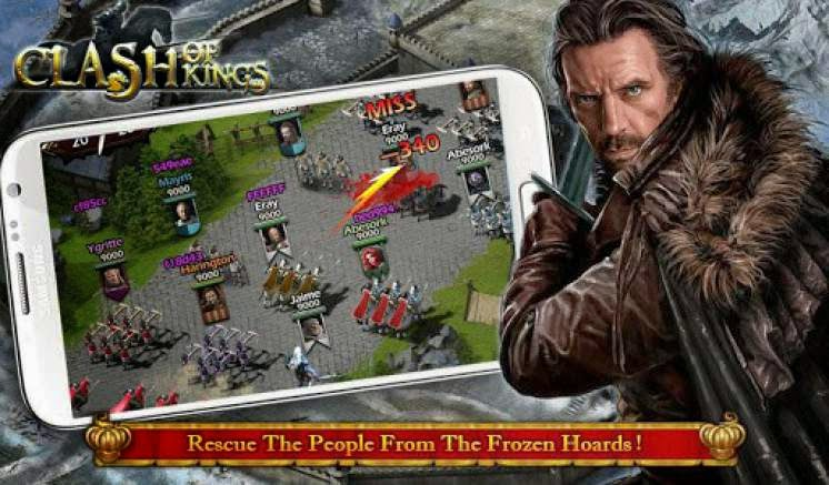 Clash of kings apk mod money