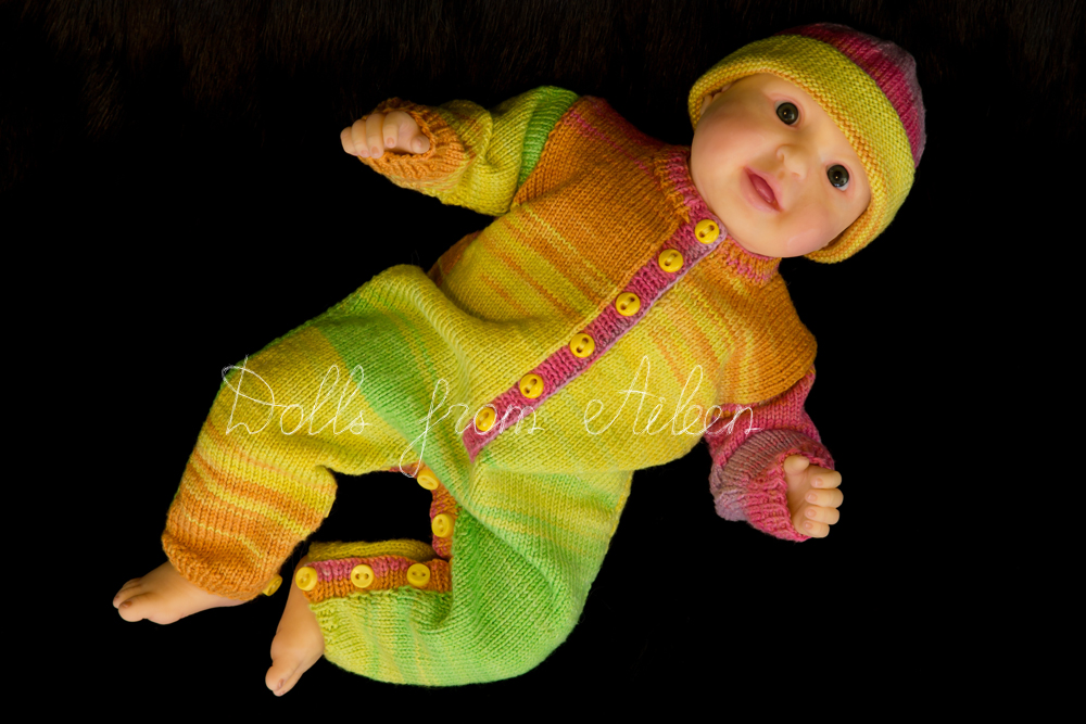 ooak posable baby doll