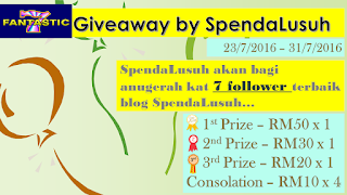 Fantastic 7 Giveaway by SpendaLusuh