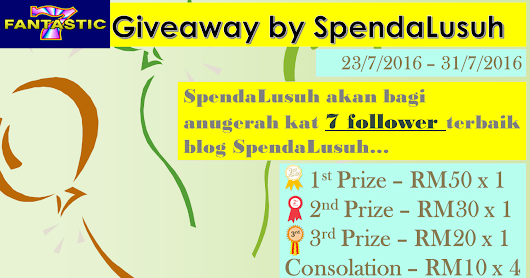 """Fantastic 7 Giveaway by SpendaLusuh"""